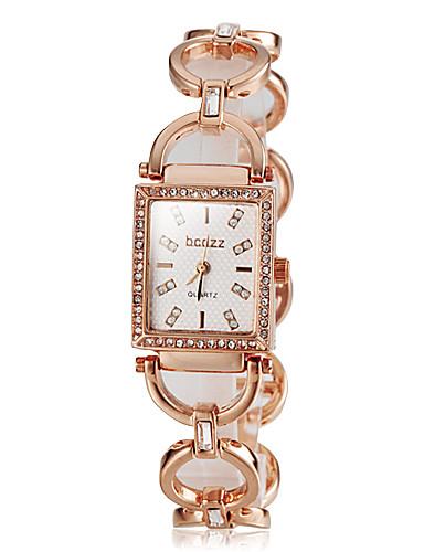 Damen Japanisch Silber / Gold / Rotgold Armbanduhren für den Alltag Analog damas Elegant - Gold Silber Rotgold / Edelstahl