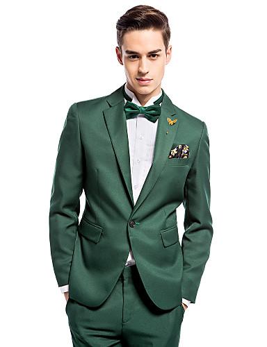black suit dark green tie - photo #24