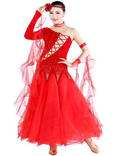 4987cc3aa474c Danse de Salon Tenue Femme Tulle / Velours / Danse moderne / Salle ...