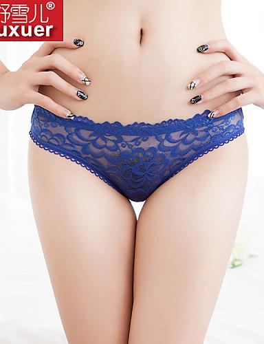 Shuxuer ® Women Cotton/Lace Ultra Sexy T-back
