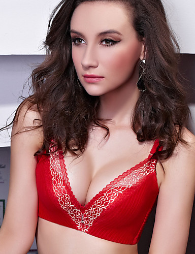Shuxuer ® Women Cotton Push-up Demi-cup Bras