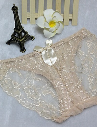 Women's New Fashion Ultra Sexy Lace Briefs Thong Panty T-back
