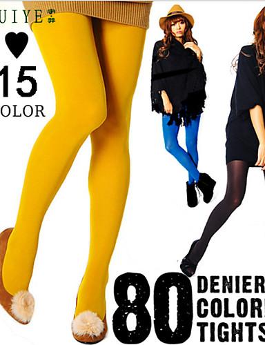 Acquista A Buon Mercato Collant - Tinta Unita Per Donna Spesso #03538919