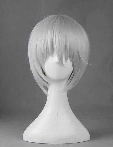 levne Cosplay a kostýmy-Kamisama Kiss Tomoe Cosplay Paruky Pánské Dámské 12 inch Horkuvzdorné vlákno Bílá Anime