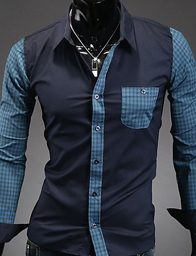 Men's Daily Casual Spring Fall Shirt