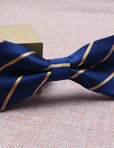 cheap Men's Ties & Bow Ties-Men's Party / Work / Basic Bow Tie - Striped