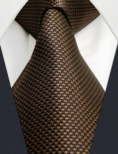 erkek iş rahat rayon kravat katı, temel