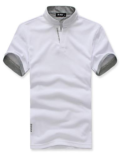 Polo Homme, Couleur Pleine - Style formel Classique & Intemporel