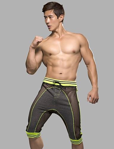 Herre Mesh Super Sexy Boxer Stripet 1 Deler