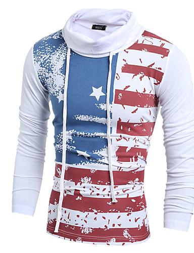 Homens Camiseta Casual Activo Moda de Rua Estilo Moderno Fashion Estampado, 3D impressão Moderno Skinny
