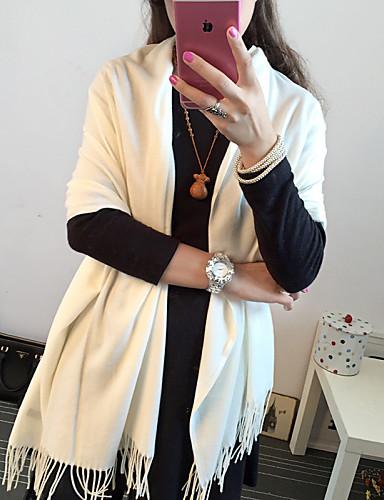 Damen Baumwolle Rechteck Solide