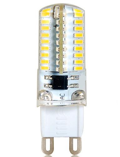 Χαμηλού Κόστους Πώληση-YWXLIGHT® 1pc 6 W 500-550 lm G9 LED Φώτα με 2 pin T 72 LED χάντρες SMD 3014 Διακοσμητικό Θερμό Λευκό / Ψυχρό Λευκό 220-240 V / 1 τμχ / RoHs