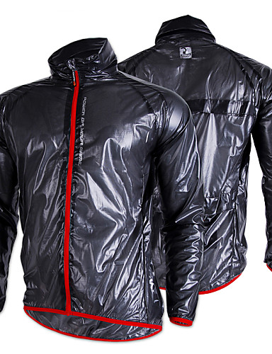 cheap Cycling Clothing-Nuckily Men's Women's Cycling Jacket Bike Jacket Windbreaker Raincoat Waterproof Breathable Anatomic Design Sports Polyester Winter Dark Grey / Green Mountain Bike MTB Road Bike Cycling Clothing