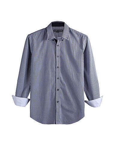 JamesEarl Muškarci Kragna košulje Dugi rukav Shirt & Bluza Smeđa - DA112046227