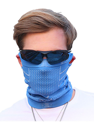 cheap Cycling Clothing-Pollution Protection Mask Men's Cycling / Bike Bike / Cycling Sunscreen Breathable Quick Dry Winter Solid Color Terylene Purple Blue Pink / Stretchy / Mountain Bike MTB / Road Bike Cycling