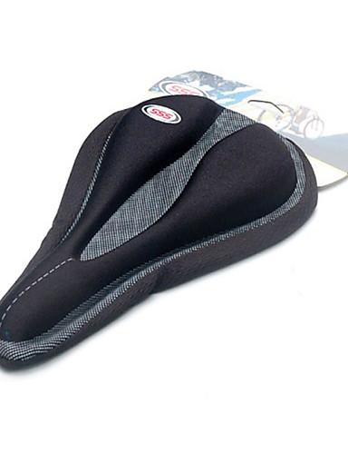 billige Setestolper og sadler-Overtrekk til sykkelsete / Hynner Ekstra Bred Komfort Tykk silica Gel Sykling Vei Sykkel Fjellsykkel Svart