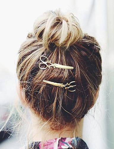 Žene Zabava Ležerne prilike Sva doba Legura Špangica za kosu Zlato