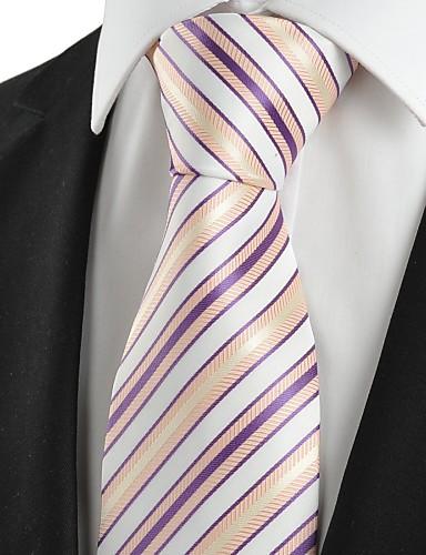 עניבת צווארון וינטאג' / חמוד / מסיבה / עבודה / יום יומי,גברים כותנה / פוליאסטר / ריון
