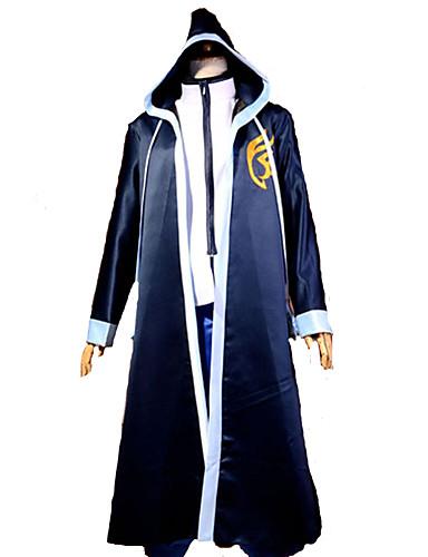 povoljno Anime kostimi-Inspirirana Fairy Tail Gerard Fernandes Anime Cosplay nošnje Japanski Cosplay Suits Kolaž Dugih rukava Plašt / T-majica Za Muškarci / Saten