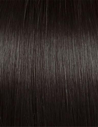 abordables Perruques Naturelles Dentelle-Perruque Cheveux Naturel humain Lace Frontale Sans Colle Lace Frontale Cheveux Brésiliens Droit Yaki Femme Densité 130% 150% 14-18 pouce avec des cheveux de bébé Ligne de Cheveux Naturelle Perruque