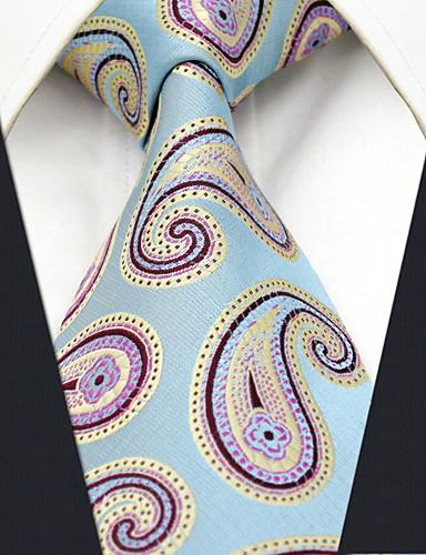 Cravate Travail Rayonne,Homme Imprimé Toutes les Saisons