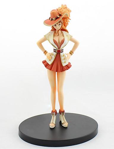 저렴한 코스플레이&코스튬-애니메이션 액션 피규어 에서 영감을 받다 One Piece Nami PVC CM 모델 완구 인형 장난감 여성용 남아 여아