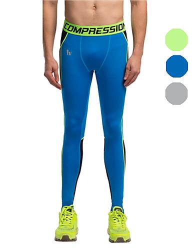 Vansydical® Férfi Futás Nadrágok Leggingek Alsók Gyors szárítás Ősz Tél Fitnessz LYCRA Teljesítmény Gyakorlat