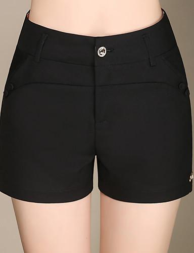 96fe518cc Mujer Tallas Grandes Corte Recto Chinos Shorts Pantalones