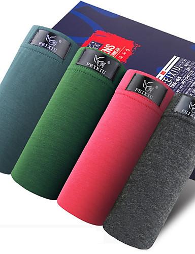 SHINO® Bomull / Bambus Karbon Fiber Boksere 4 / boks-F011