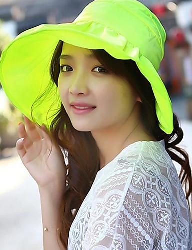 Chapeau de Paille Eté Décontracté Lin Femme