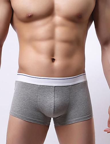 Bărbați Bloc Culoare - Super Sexy Chiloți Boxeri Bărbătești 1 Bucată