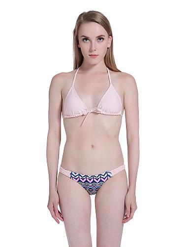 PolyesterHalter-Bikini-Effen-Vrouwen