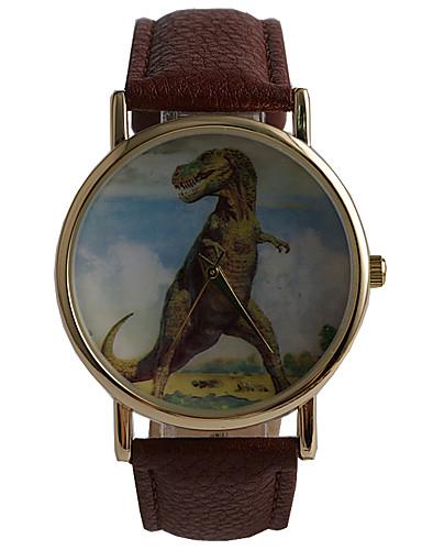 Hombre Reloj de Moda / Reloj de Vestir / PU Banda Vintage / Casual Marrón