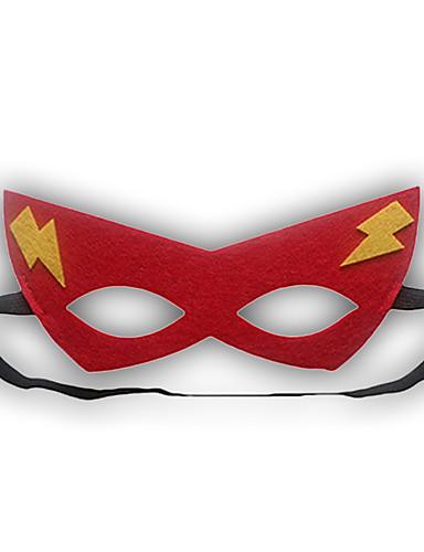 Piger / Drenge Maske Alle årstider-Polyester-Rød
