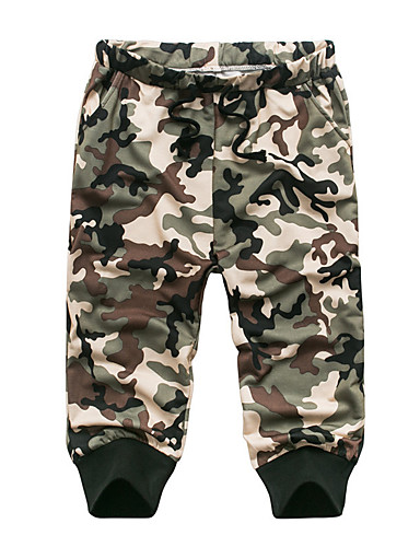 Herre Plusstørrelser Aktiv Joggingbukser Bukser camouflage