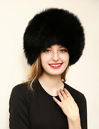 Dames Imitatiebont, Effen Bolhoed / Cloche hoed -