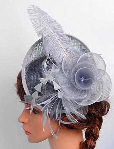 abordables Chapeau & coiffure-Dentelle / Organza / Filet Fascinators / Voiles Birdcage avec 1 Mariage / Occasion spéciale / De plein air Casque