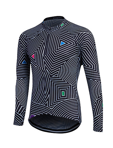 Fastcute Men s Women s Unisex Long Sleeve Cycling Jersey Plus Size Bike  Sweatshirt Jersey Top Thermal   Warm Breathable Quick Dry Sports Winter  Polyester ... 1f46cf4b6