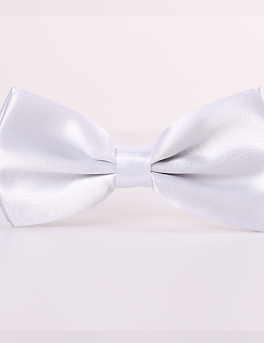 cheap Men's Ties & Bow Ties-Men's Party / Work / Basic Bow Tie - Solid Colored