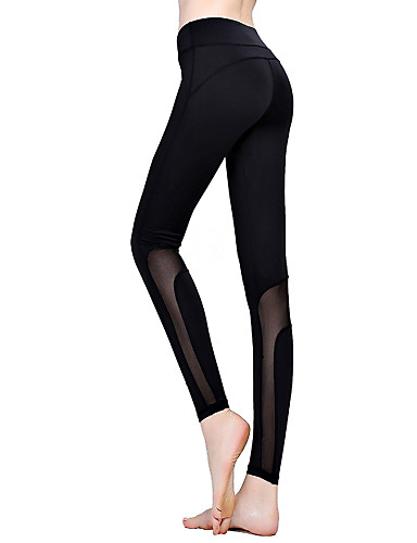 Dame Bomull Sporty Tights - Ensfarget