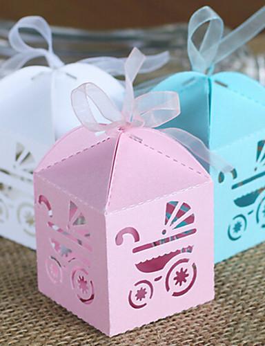 創造的 カード用紙 好意のホルダー とともに リボン ラッピングボックス/ギフトボックス