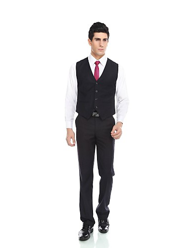 Baumwolle Wolle & Polyester Mischung Enge Passform (Slim Fit) Standard-Passform Party / Abend Regulär Muster