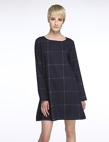 무릎길이 - 면 - 안감 처리안됨 - 드레스