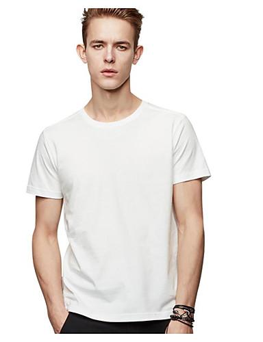 Herrn Druck T-shirt, Rundhalsausschnitt Baumwolle