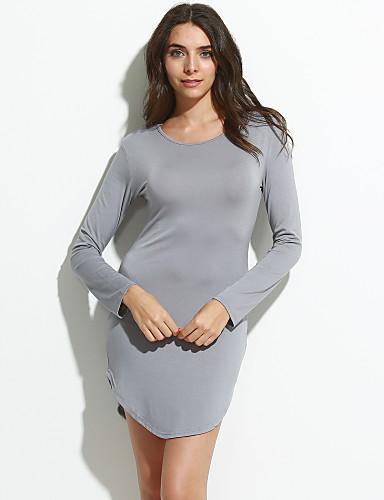 Damen Solide - Street Schick T-shirt