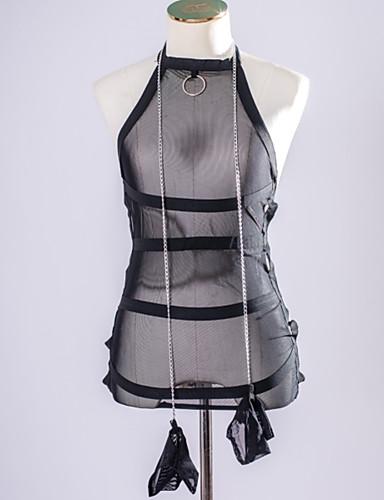 Damen Sexy Anzüge Besonders sexy Passende Bralettes Nachtwäsche - Gitter, Solide