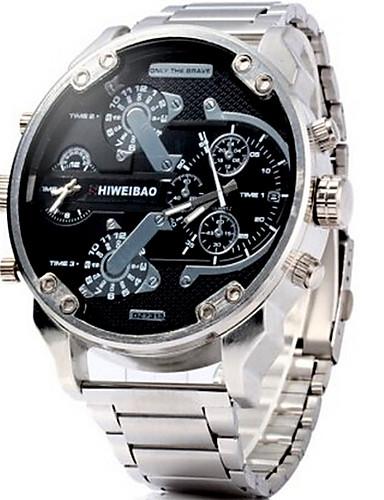 Homens Adolescente Relógio de Pulso Relógio Militar Relógio Elegante Relógio de Moda Relógio Esportivo Chinês Quartzo Calendário Dois