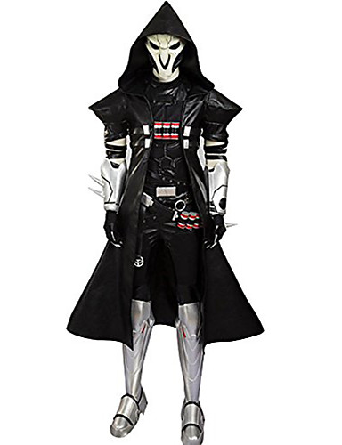 povoljno Anime kostimi-Inspirirana Overwatch Cosplay Anime Cosplay nošnje Japanski Cosplay Suits Kolaž Kaput / Pojas Za Muškarci
