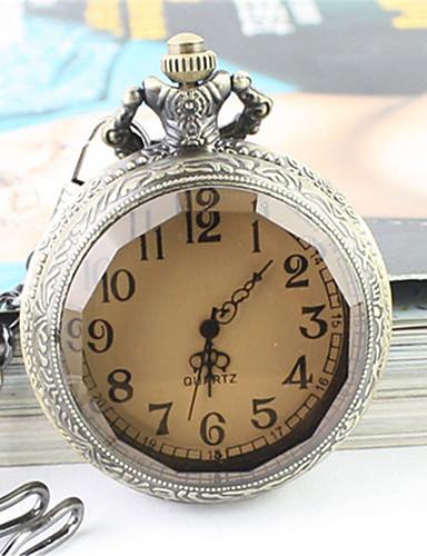 Homens Relógio de Pulso Relógio de Bolso Relógio de Moda Quartzo Relógio Casual Lega Banda Elegant Prata