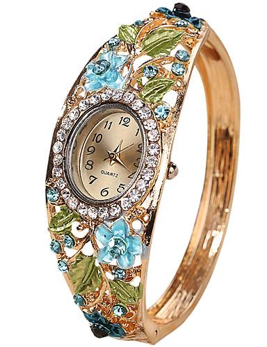 2a975911907 baratos Relógios de Pulseira-Mulheres senhoras Bracele Relógio Quartzo  Criativo Relógio Casual Legal Analógico Vintage